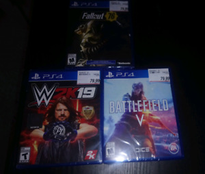 PS4 New Release Game Bundle (Brand New/Sealed)