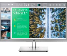 HP EliteDisplay E243 23.8-Inch Full HD 1080p LED Monitor - Grey