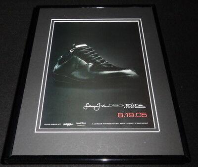 2005 Sean John Elite Black Moreno Framed 11x14 ORIGINAL Advertisement