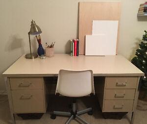 Large Metal Desk for Sale