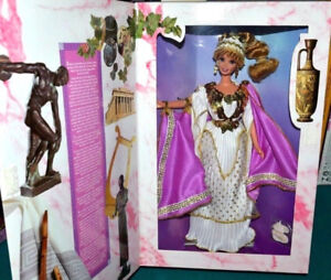 Grecian Godess Barbie 1995 NRFB Great Eras Collection