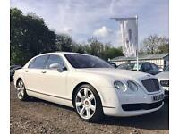 2007 56 BENTLEY CONTINENTAL FLYING SPUR 6.0 W12 TWIN TURBO 5 SEATS AUTO 550 BHP