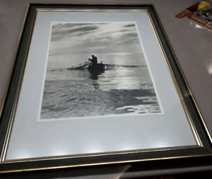 """Wallace R. MacAskill photograph """"Toilers of the Sea"""" 1928-$175"""