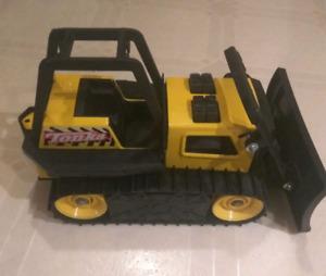 Tiny Tonka Dozer  Yellow Bulldozer