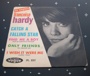 Françoise Hardy - Catch a falling star +3 (1969) EP PS vinyle