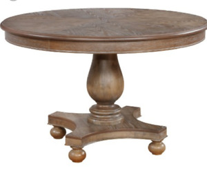 Powell Lenoir Dining Table - Oak with/without 4 Chairs