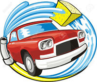 CAR CLEANING, shampooing , detailing, waxing plus more!