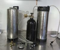 Kegging System for making beer