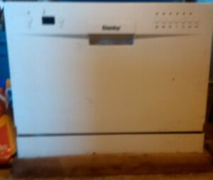 Danby counter top dishwasher still in crate