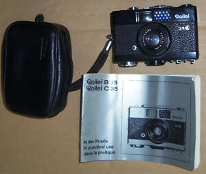 Rollei B35 Miniature Viewfinder Camera 35mm - working condition