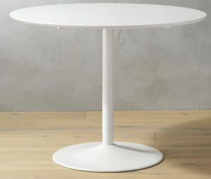 Dining Table - CB2 odyssey white dining table