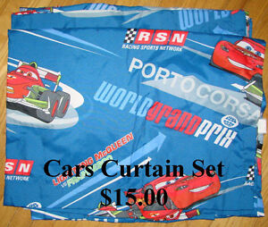 Cars Curtain Panels
