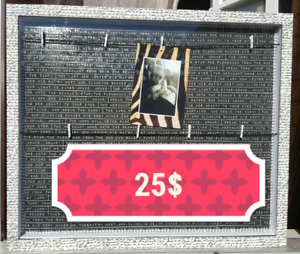 WALL HANGING PHOTO FRAME 25$