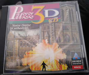 Notre Dame Cathedral 3D Puzzle cd