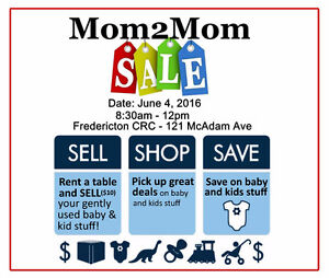 Mom 2 Mom Sale - FREE ENTRY