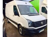 VOLKSWAGEN CRAFTER CR35 BLUEMOTION TDI H-R Kombi 6 seater White Manual Diesel, 2