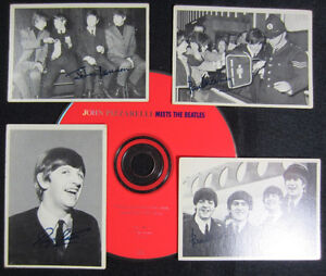 Lot # : 1020 - Cartes Beatles (1964) + CD