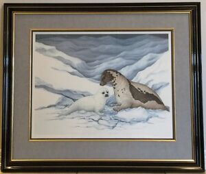 Christine Marshall - Gentle Moment - Harp Seals