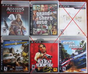 Jeux PS3