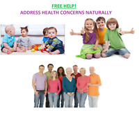 Free Help! Addressing Health Conditions Naturally-Great Results!