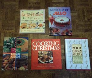 Hardcover and Softcover Cookbooks
