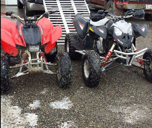 2 quads for sale or trade