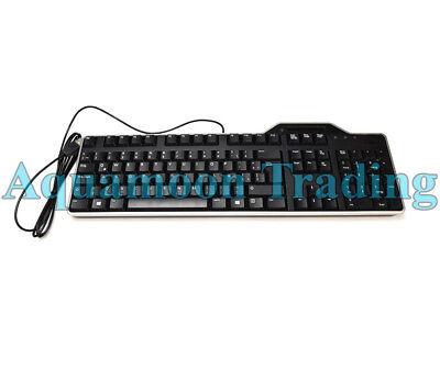New 9KYD5 Autentico Dell KB813t SPANISH Keyboard TECLADO USB Smart Card Reader comprar usado  Enviando para Brazil