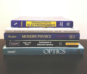 Physics and Mathematics Textbooks