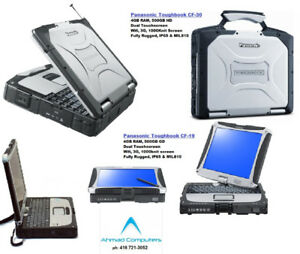 Panasonic Toughbook CF-19 or CF-30 TouchScreenLaptop 500GB HD