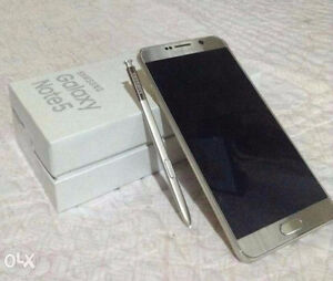 Gold Note 5 32 GB 9.5/10 Condtion Kitchener / Waterloo Kitchener Area image 1