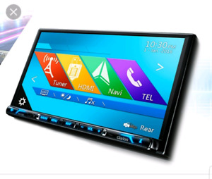 """Clarion NX706 7"""" 3D TouchScreen Navigation Head Unit / Stereo"""