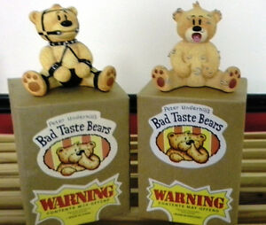 Bad Taste Bears Collectbles