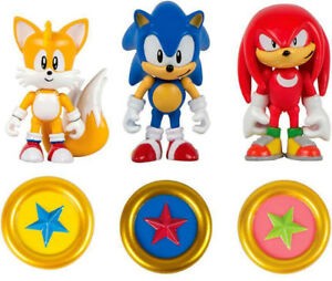 New -Sonic The Hedgehog: Classic Sonic, Classic Knuckles & Tail