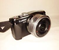 BLACK FRIDAY SALE! Lumix GF6 16 MP camera package.
