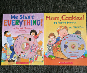 Robert Munsch CD books & Disney