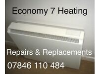 Storage heating repairs & Economy 7 heating repairs Northern Ireland belfast based electrician