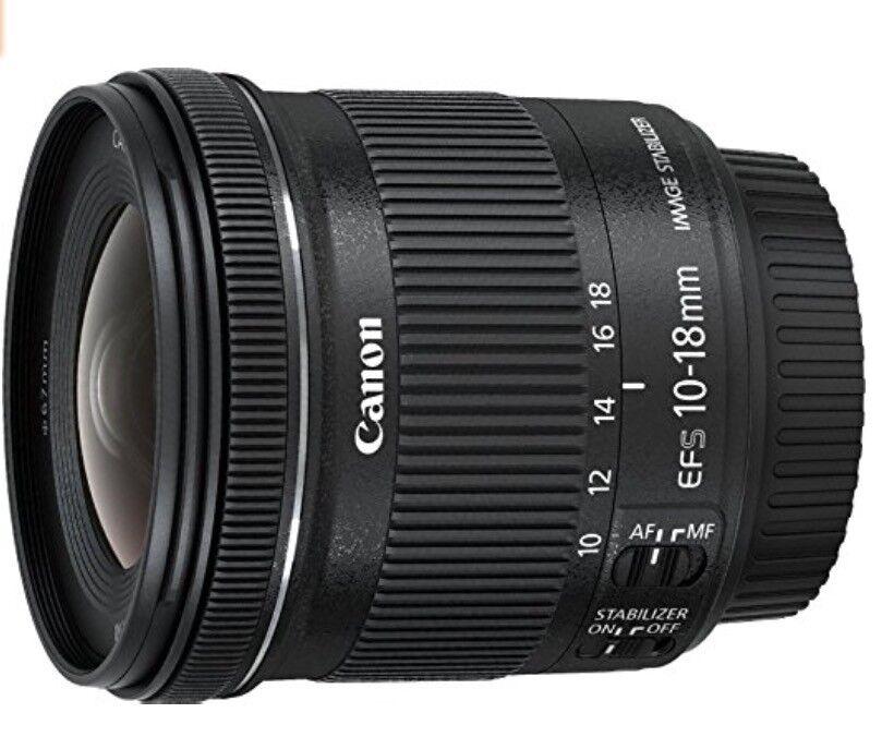 Canon 10-18mm Lense