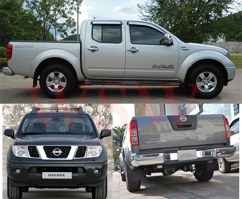 Polished black tail rear light lamp cover for nissan navara d40 description sciox Image collections