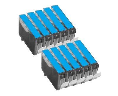 10 Druckerpatronen kompatibel für Canon BCI-6PC photocyan (Canon Bci-6 Pc)
