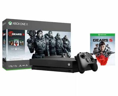 Xbox One X 1TB Console – Gears 5 Bundle