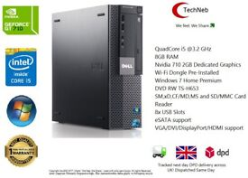 Cheapest Online! i5 8GB RAM 2GB NVIDIA GT710 GRAPHICS 250GB HDD ULTRA FAST GAMING PC