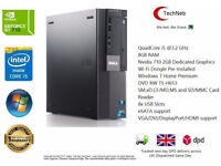 POWERFUL DELL PC i5 @3.2 Ghz 8GB RAM 2GB ASUS G710 GRAPHICS 500GBHDD WINDOWS 7