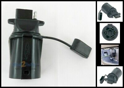 7-Blade to 4-Flat Plug-In Simple Adapter Vehicle to Trailer Towing 47355 -