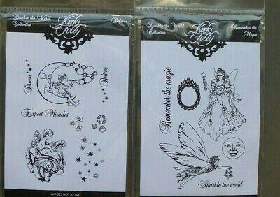 Kirks Folly clear stamps sets X 2,  BNIP .  Fairy, cherub,fantasy