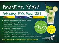 Brazilian party in Weston-super-Mare