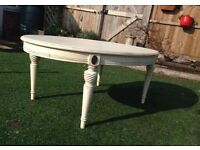 White Shabby Chic French Coffee Table
