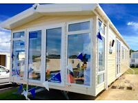 Luxury static caravan for sale isle of wight, 8 berth, 12 month seafront park, 2017 site fees paid