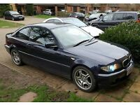 BMW 3 SERIES 318i COUPE = 2004/54 PLATE - LEATHER INTERIOR - LONG MOT