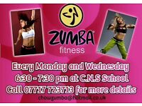 Zumba fitness classes norwich