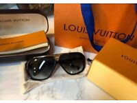 Louis Vuitton style sunglasses